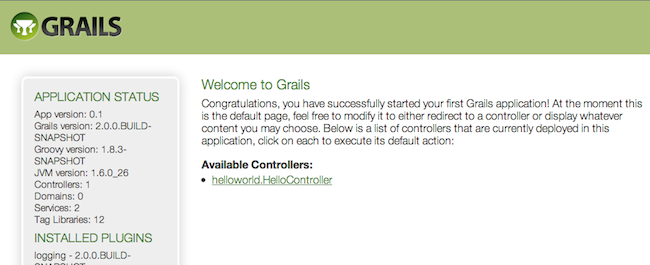 The Grails Framework 3 1 2