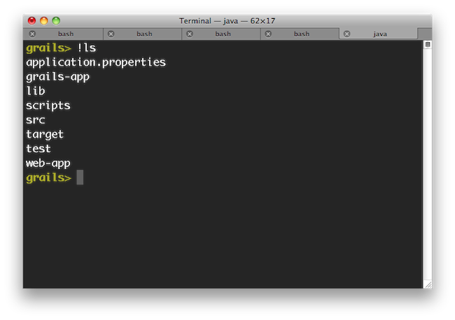 5 The Command Line 3 2 13