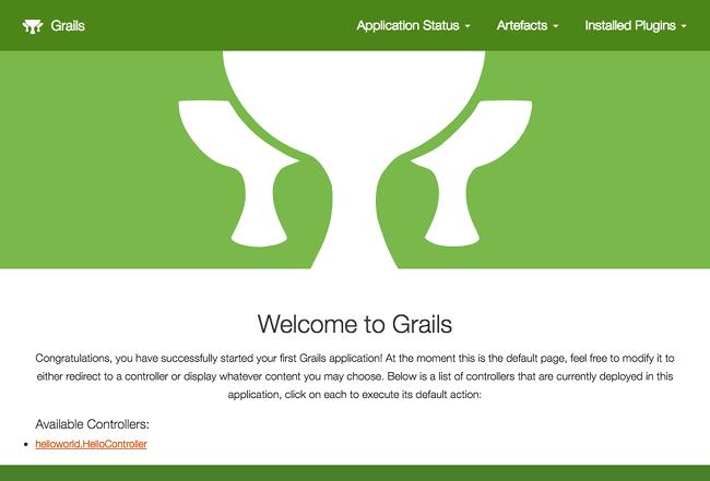 The Grails Framework 4 0 0