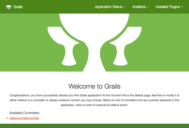 The Grails Framework 4 0 0